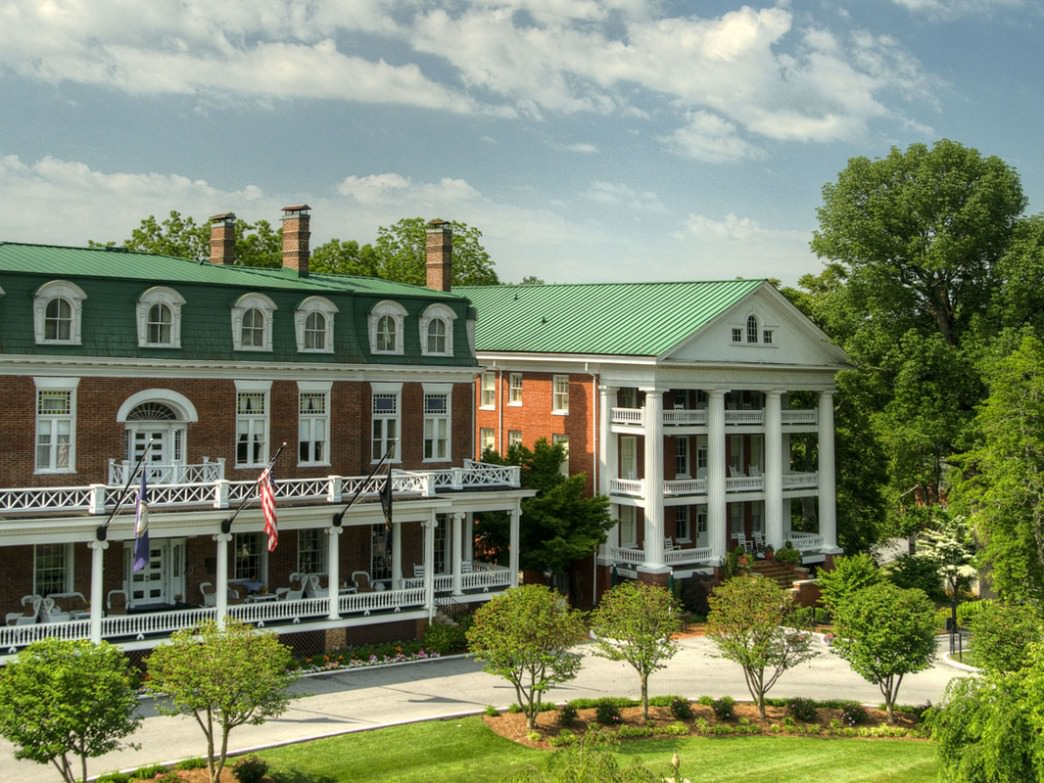 Built in 1832 as a private residence, The Martha Washington Inn and Spa is a Four-Star Historica Hotel and a local landmark