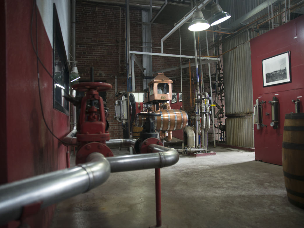 Get an inside look at the Barton 1792 distillery.
