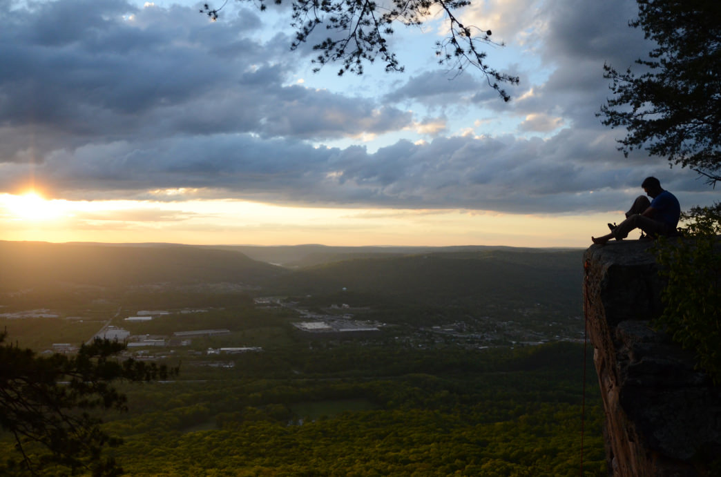 Sunset Rock in Chattanooga features one of the most popular spots for hiking.