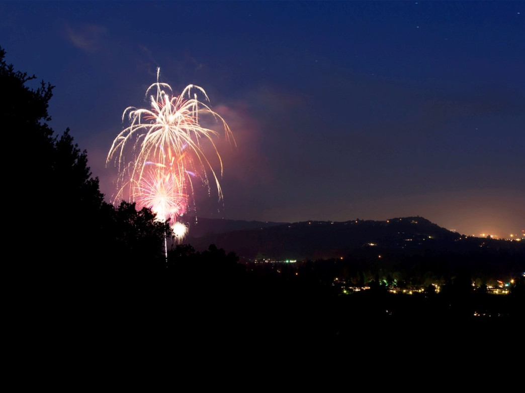 The Silverado Resort and Spa hosts its own celebration, complete with BBQ and fireworks, on July 3.