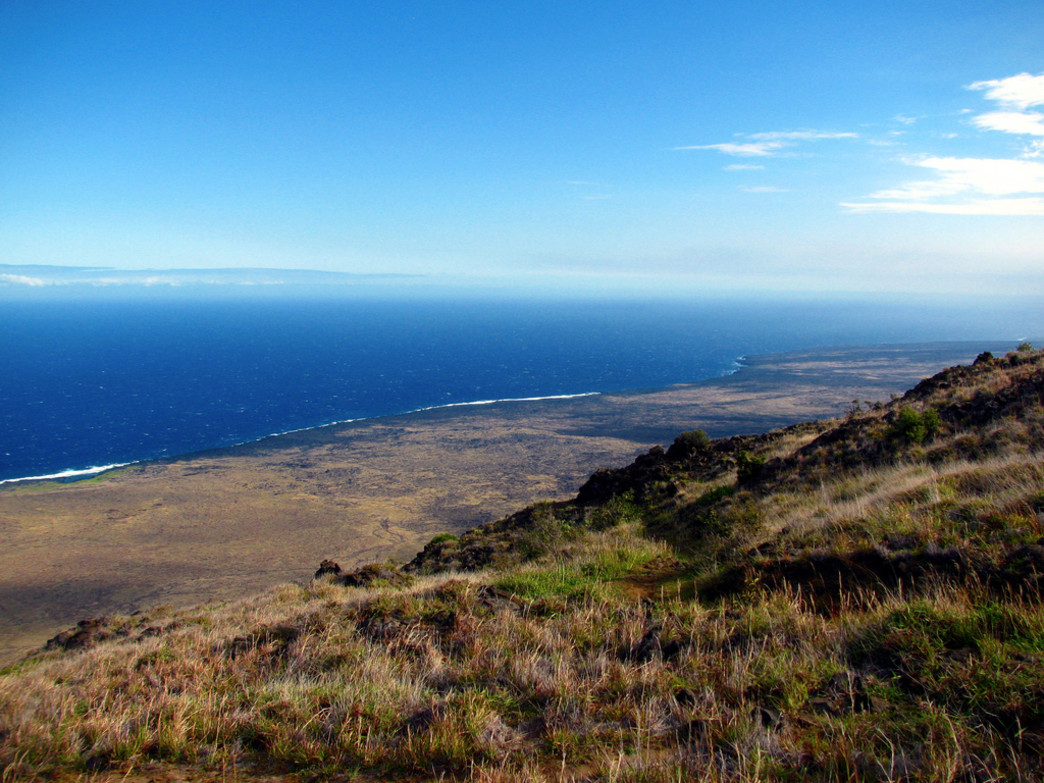 The Hilina Pali Overlook.