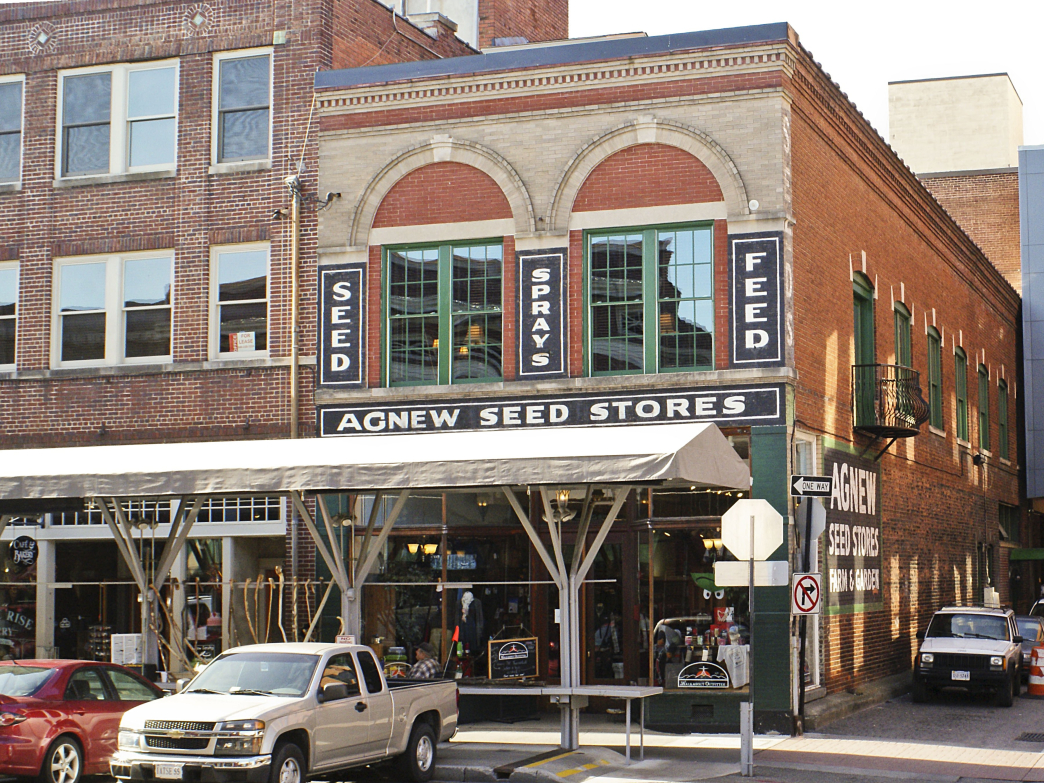 In 2009, the Millers moved their Roanoke store three doors down into the century-old Agnew Seed building.
