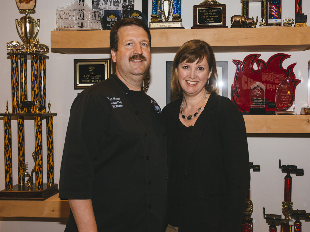 Rob and Kelly Magee, owners of Q39
