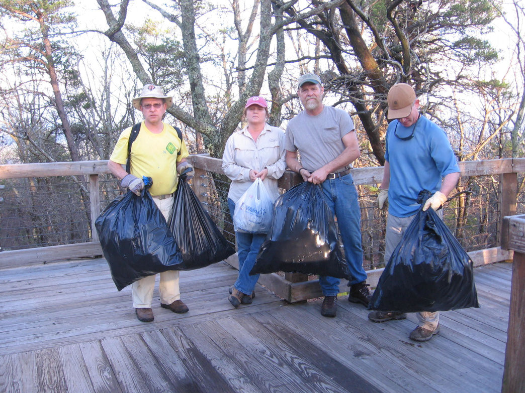 In addition to providing necessities to hikers, trail angels are good trail stewards who volunteer to maintain safe hiking trails for all.     Alabama Hiking Trail Society