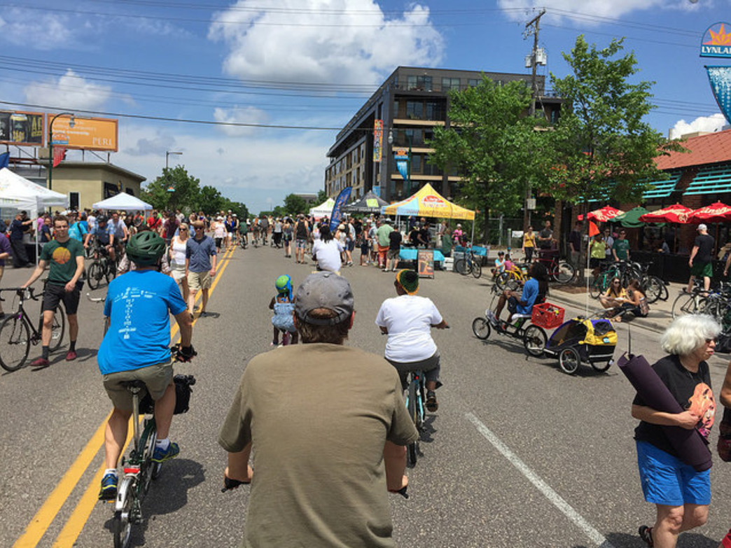 Open Streets events were held in eight communities this year.