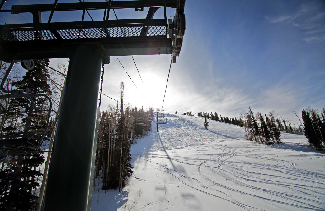 Head straight to the chairlift in Deer Valley for an afternoon of skiing.