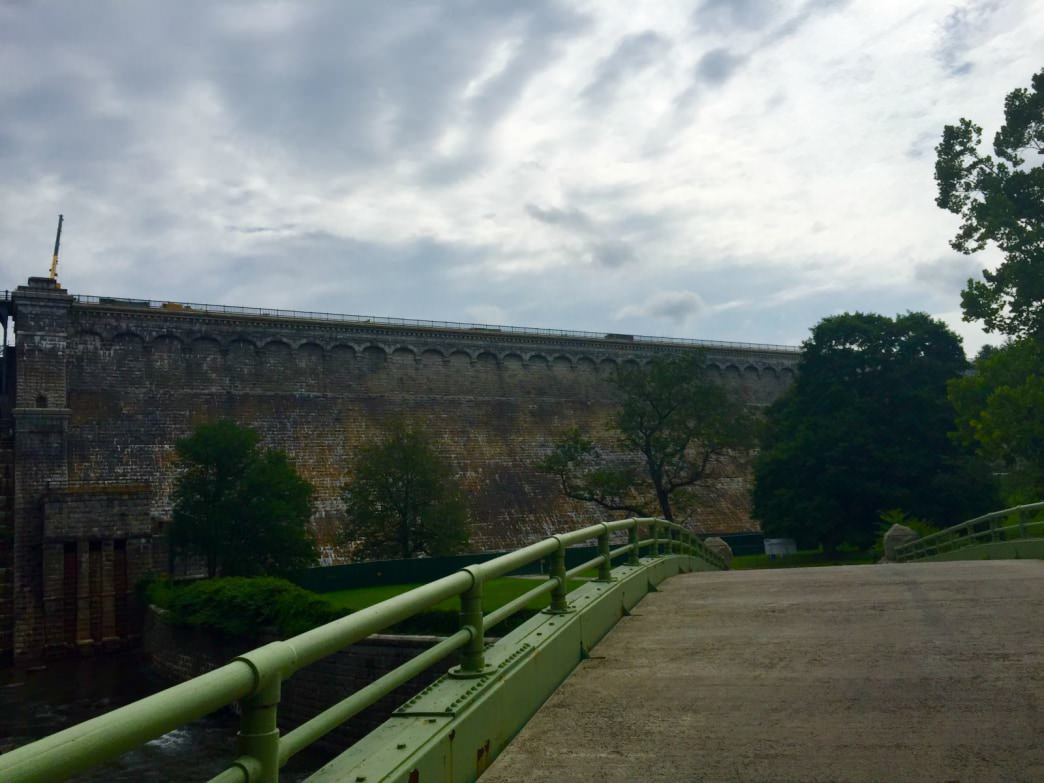 Views of Croton Dam from afar