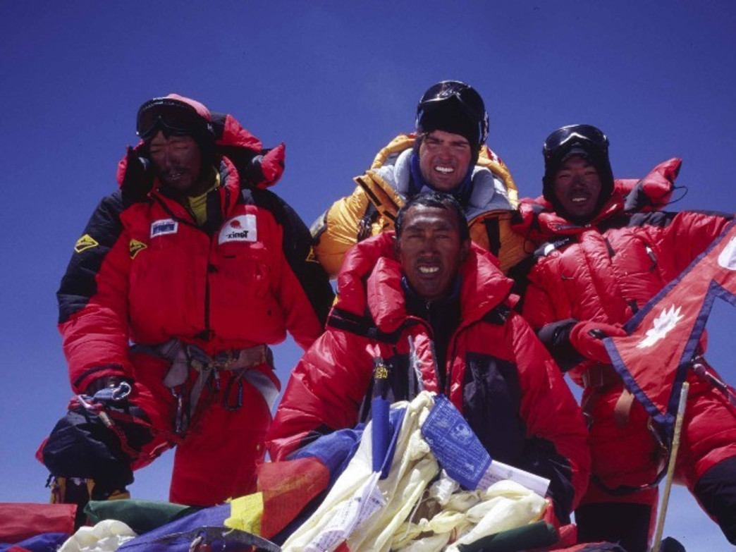 With the right mix of people and a heavy dose of passion, anything is possible, says Benitez, who has summited Everest six times.