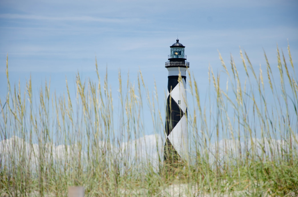 Constructed in 1859, the Cape Lookout lighthouse is a fantastic place to visit while on the island.