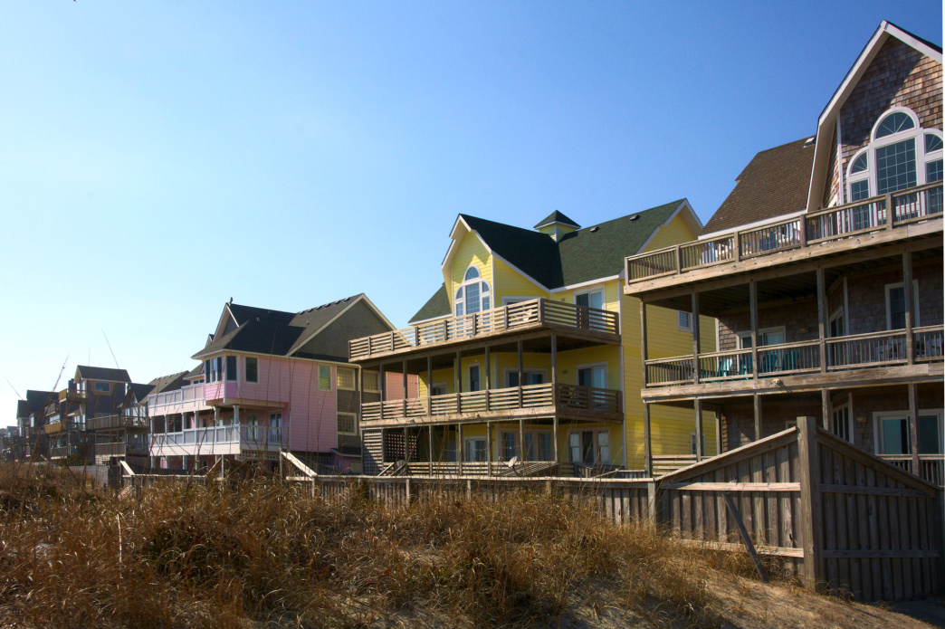 Vacation rentals are available for groups of all sizes.