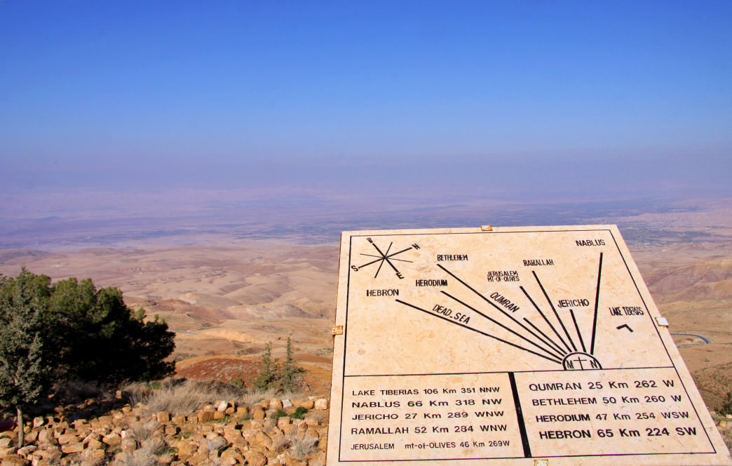 Mount Nebo is one of many landmarks along the newly opened Jordan Trail.