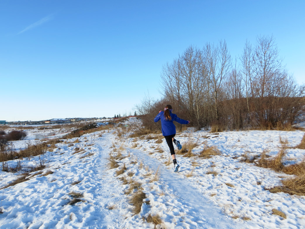 Winter running can be a lot of fun!