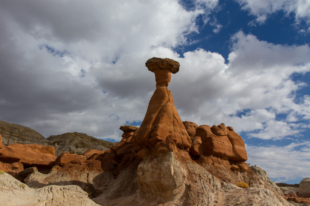 Toadstools offers some amazing rock formations to explore.