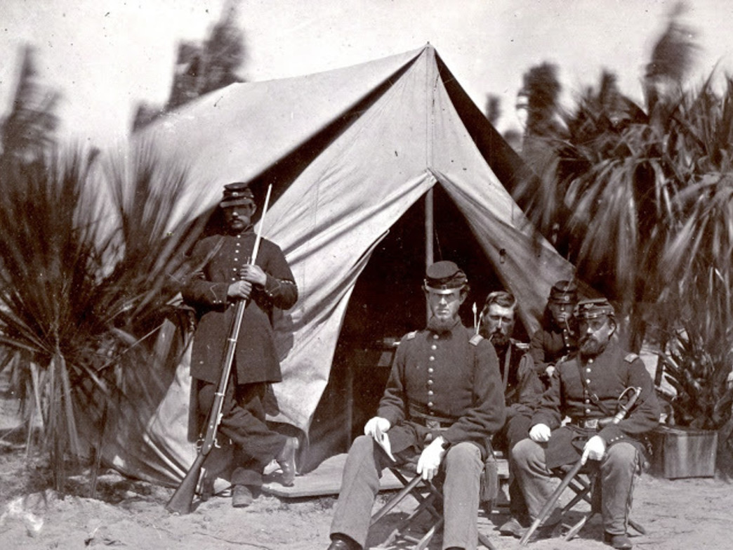 Union Soldiers on Pinckney
