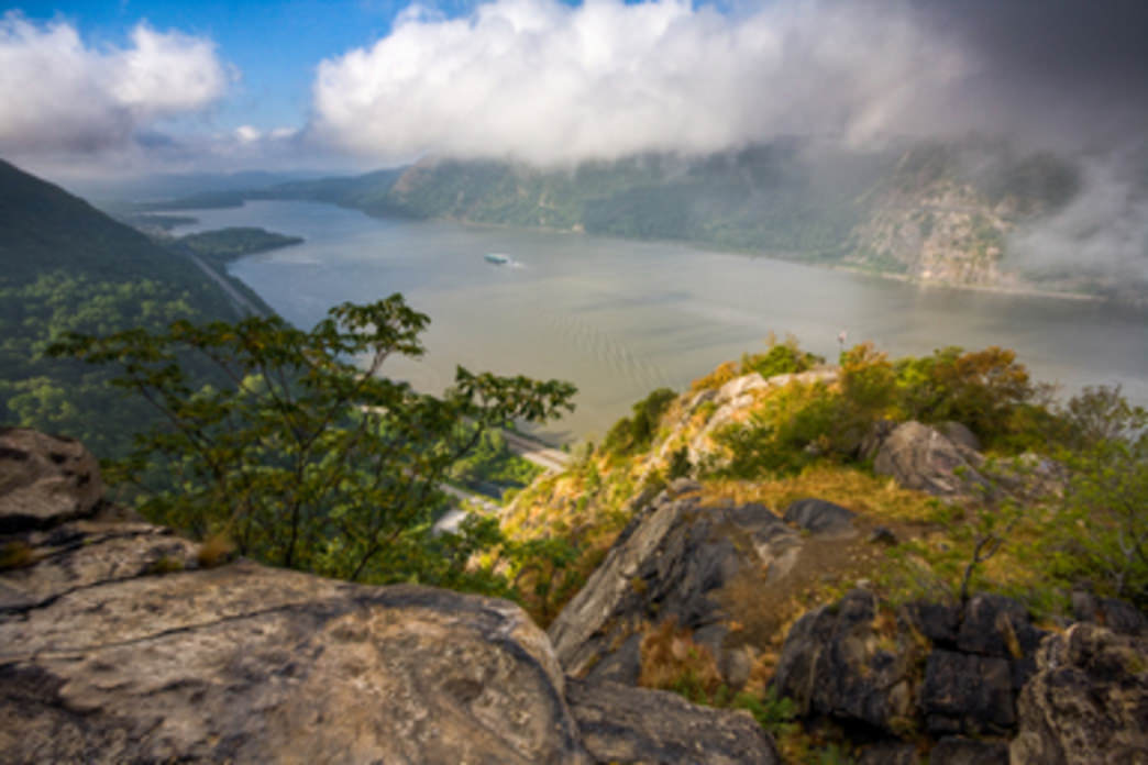 The view from Breakneck Ridge at Fahnestock State Park