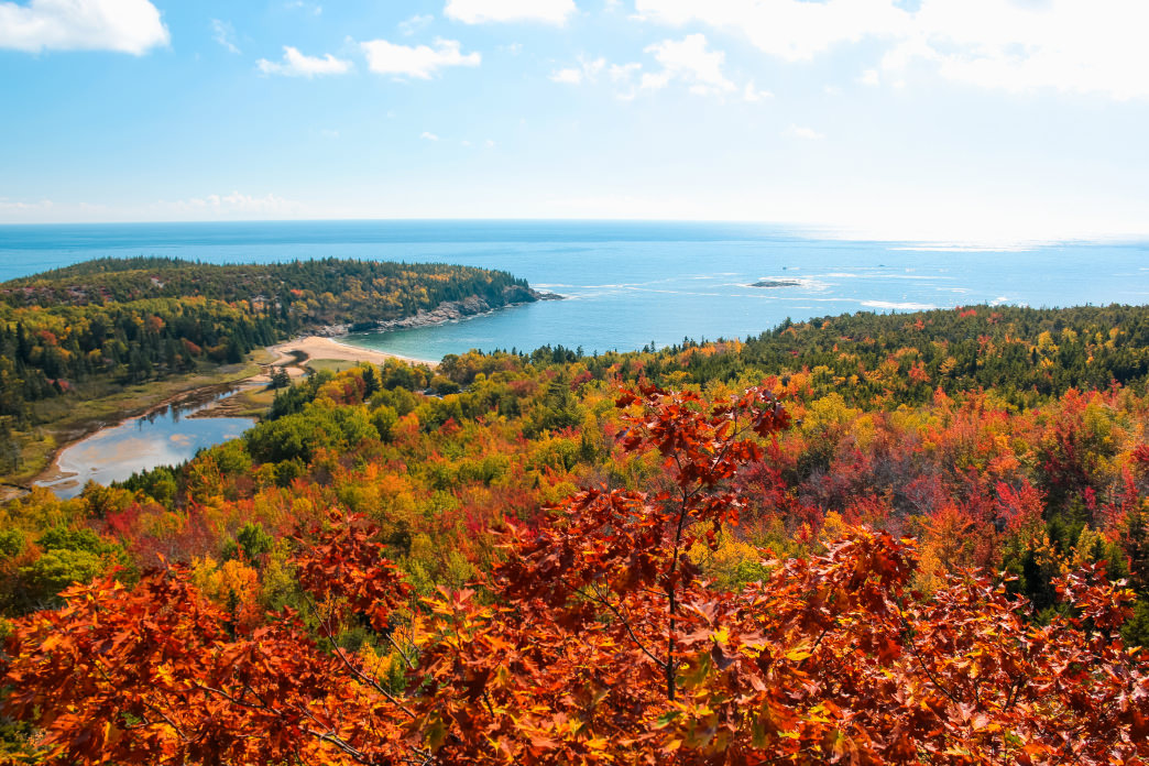 Gorgeous Acadia National Park is just steps from Bar Harbor.