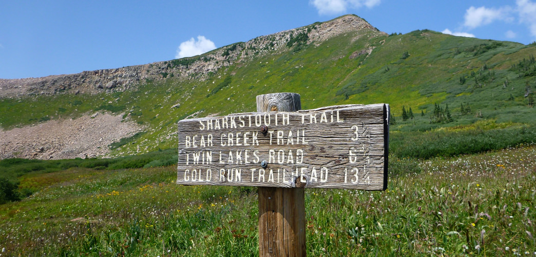 Sharkstooth Trail is a great day hike in a region of Colorado many overlook.