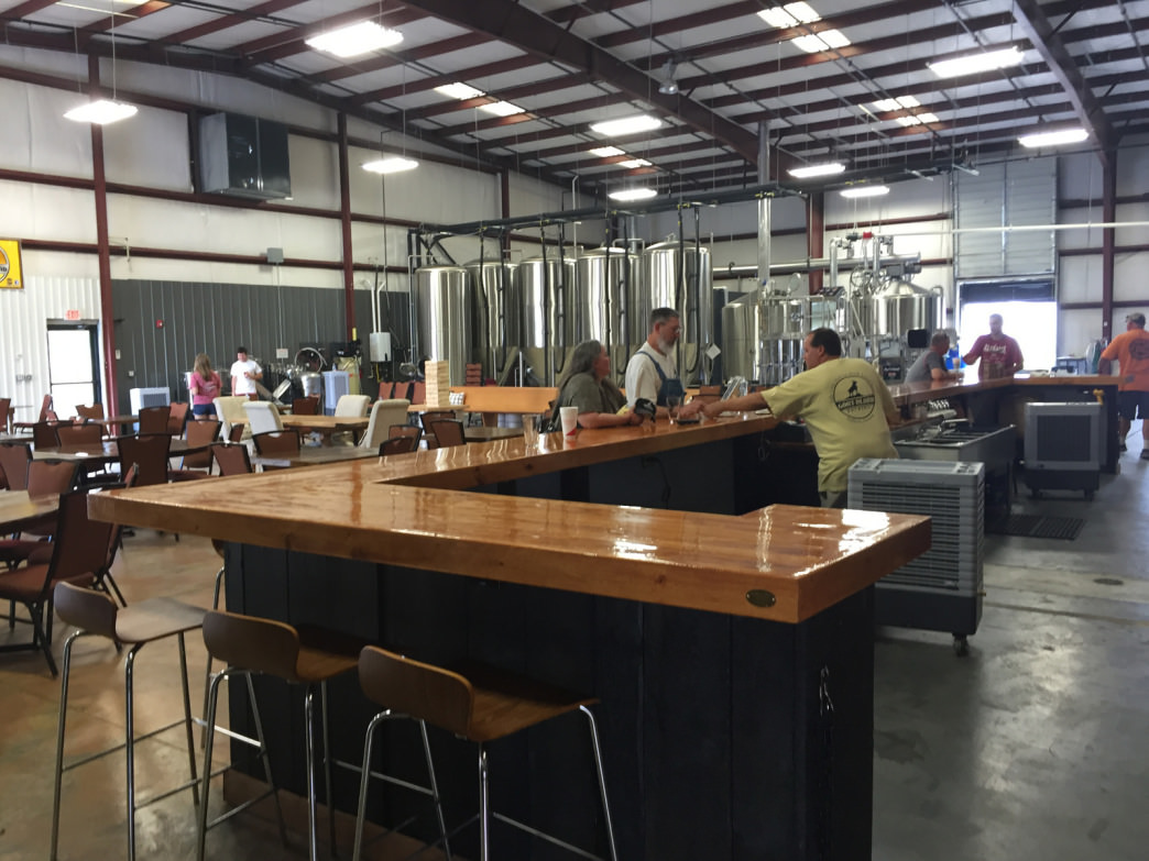 Goat Island Brewing is the first craft brewery in the Cullman city limits.