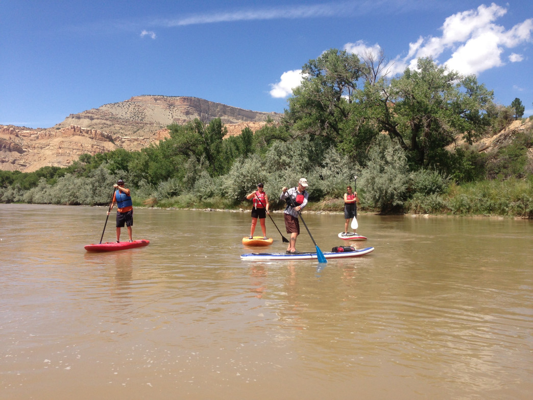 The folks at Rapid Creek Cycles can give you some paddling pointers before you set off on your float.