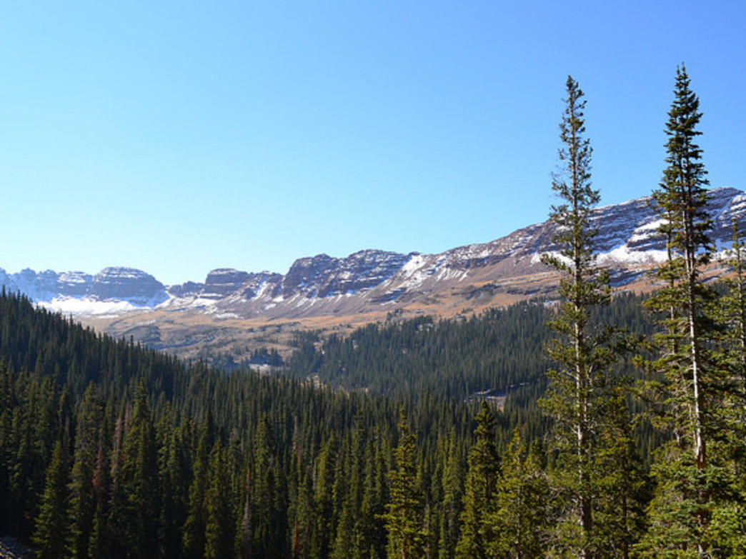 Four Pass Loop Backpacking