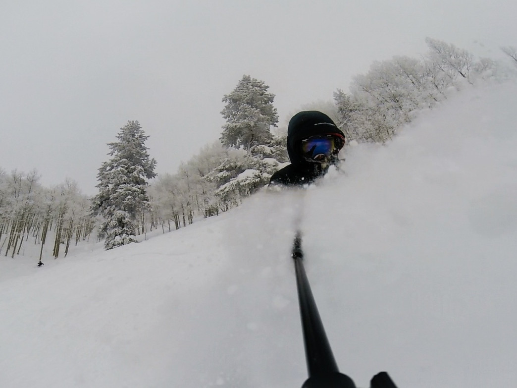 A snorkel might be helpful on a good day on the Minturn Mile.