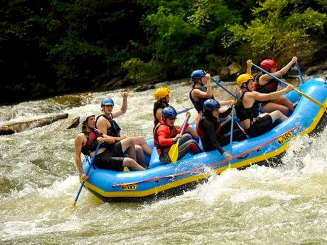 UTOP on a whitewater rafting trip.