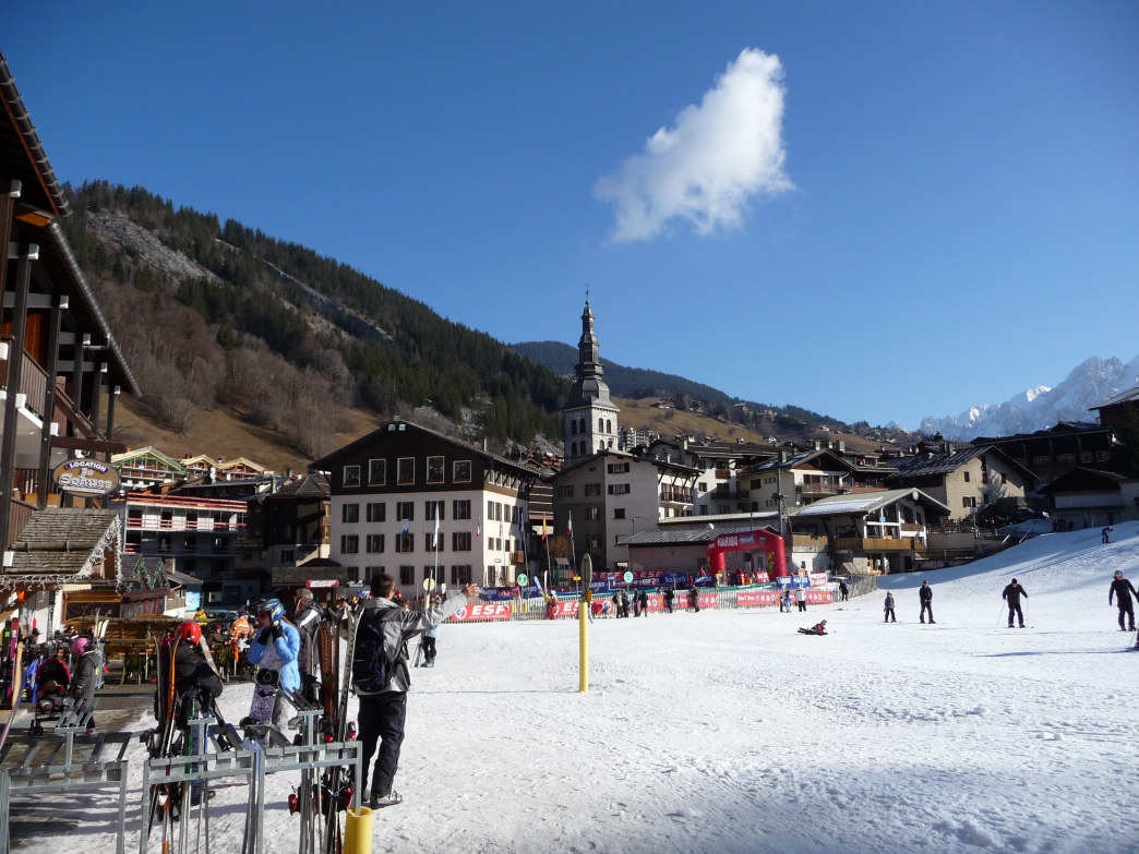 La Clusaz, which opened in 1907, is one of the world's oldest continuously operating ski resorts.