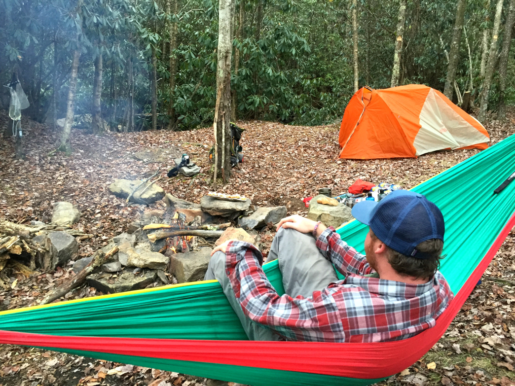 Camping among the rhododendrons in Virginia's Grayson Highlands