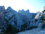 Castle Crags Rock Formation