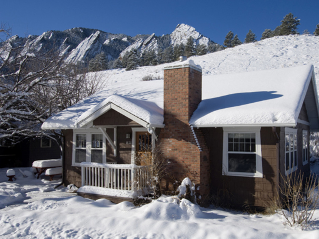 Settle into your home away from home at the base of Boulder's Flatirons.