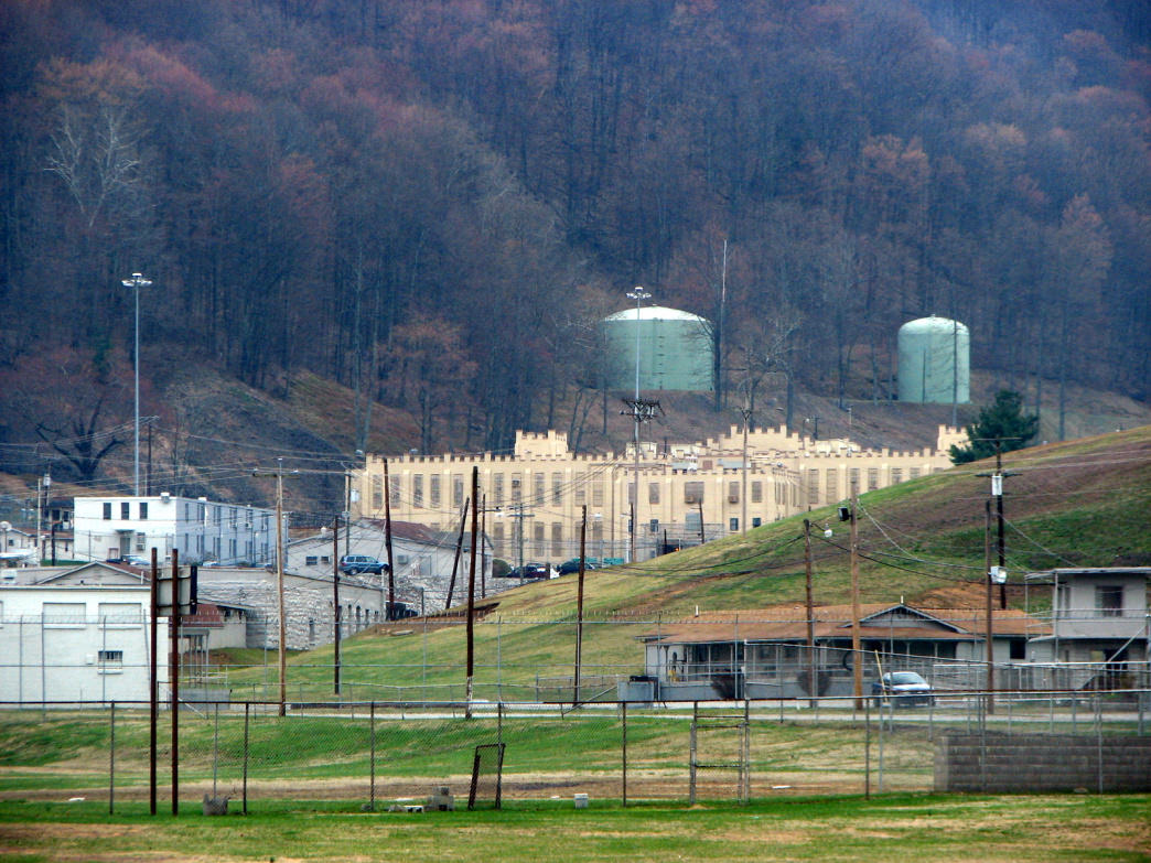 Brushy Mountain Correctional Complex was a maximum-security prison at Frozen Head.