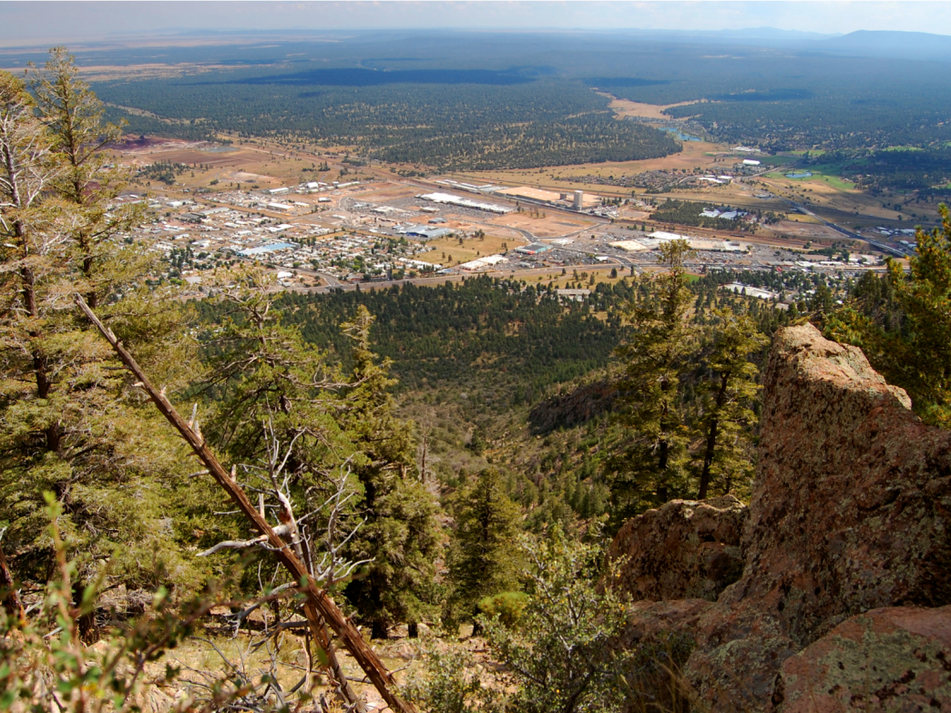 View from Elden Lookout Trail