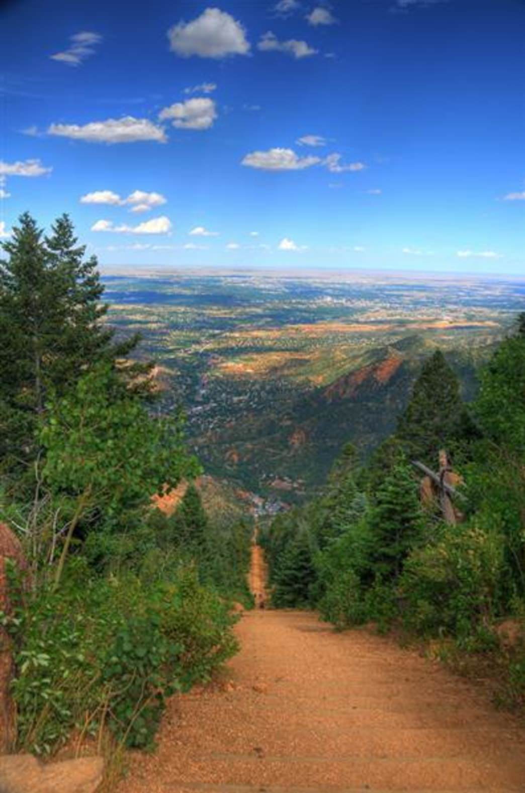 Manitou Incline Trail Running