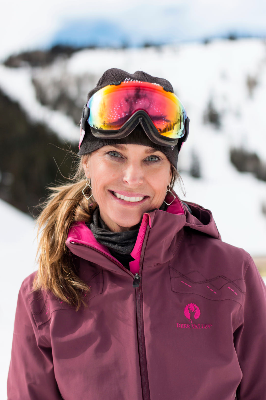 Three-time Olympian Heidi Voelker is Deer Valley's Ambassador of Skiing.