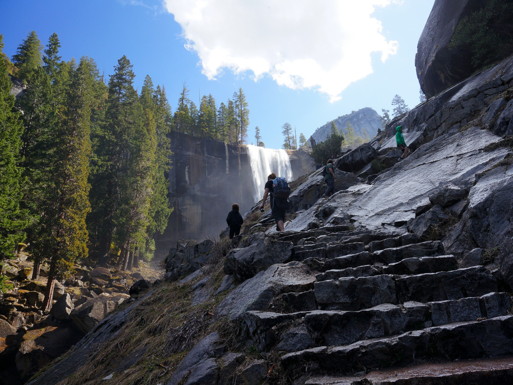 The Mist Trail is a must-do; just be prepared to get wet.
