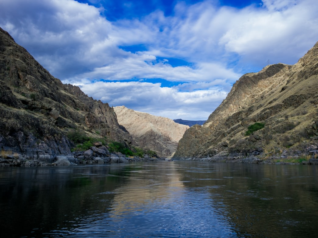 Views from the deepest gorge in North America, Hells Canyon.
