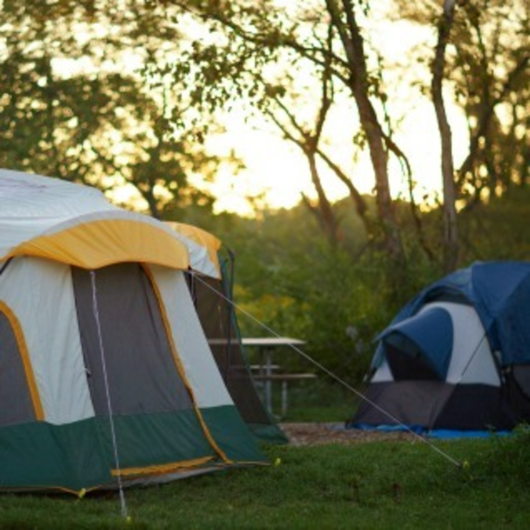 Blackwell Forest Preserve Camping