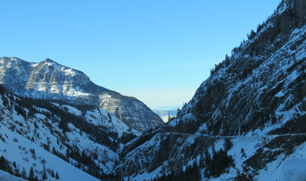 Expect exceptional views along the Million Dollar Highway.