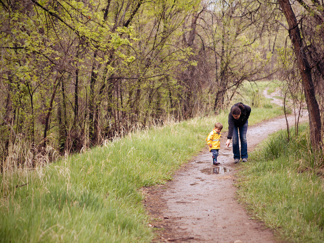 Hiking with little ones is a great way to get a new appreciation for nature.