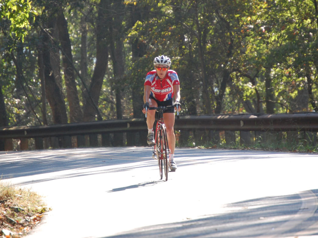 The ride to Morrow Mountain is one of the most iconic road cycling trips in the state.