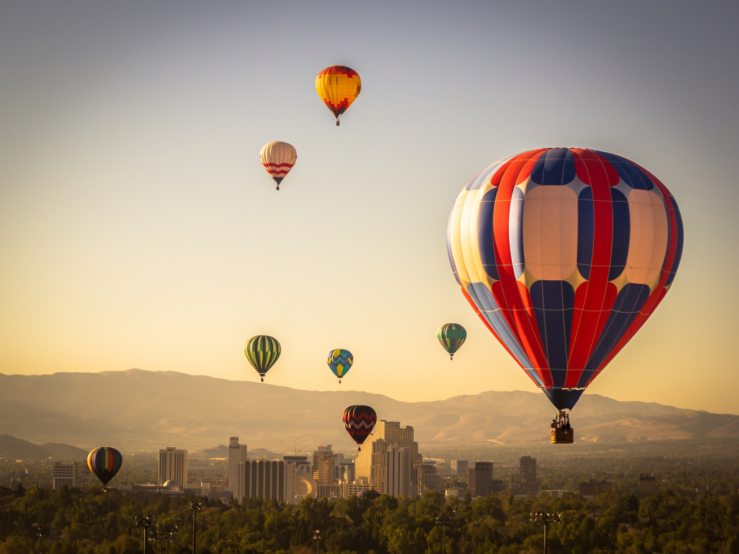 The Great Reno Balloon Race in 2014.