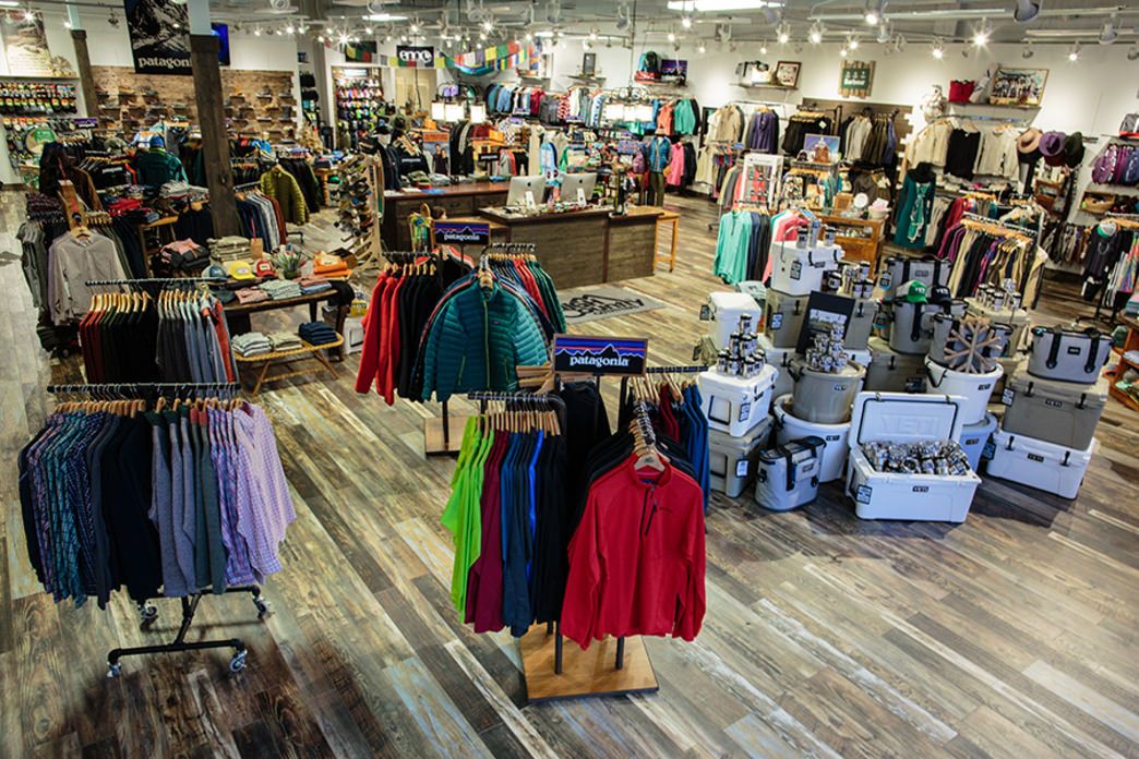 High Country Outfitters sells gear as well as everyday apparel.