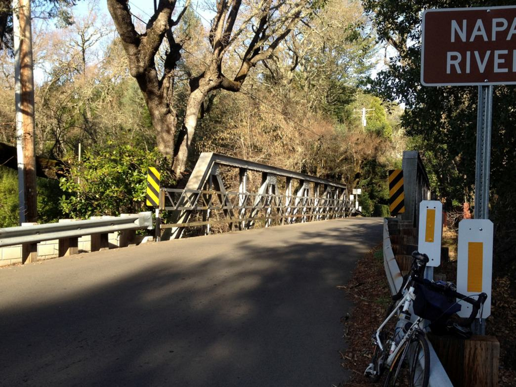 The rural roads of Napa and Sonoma counties are idyllic for cycling.