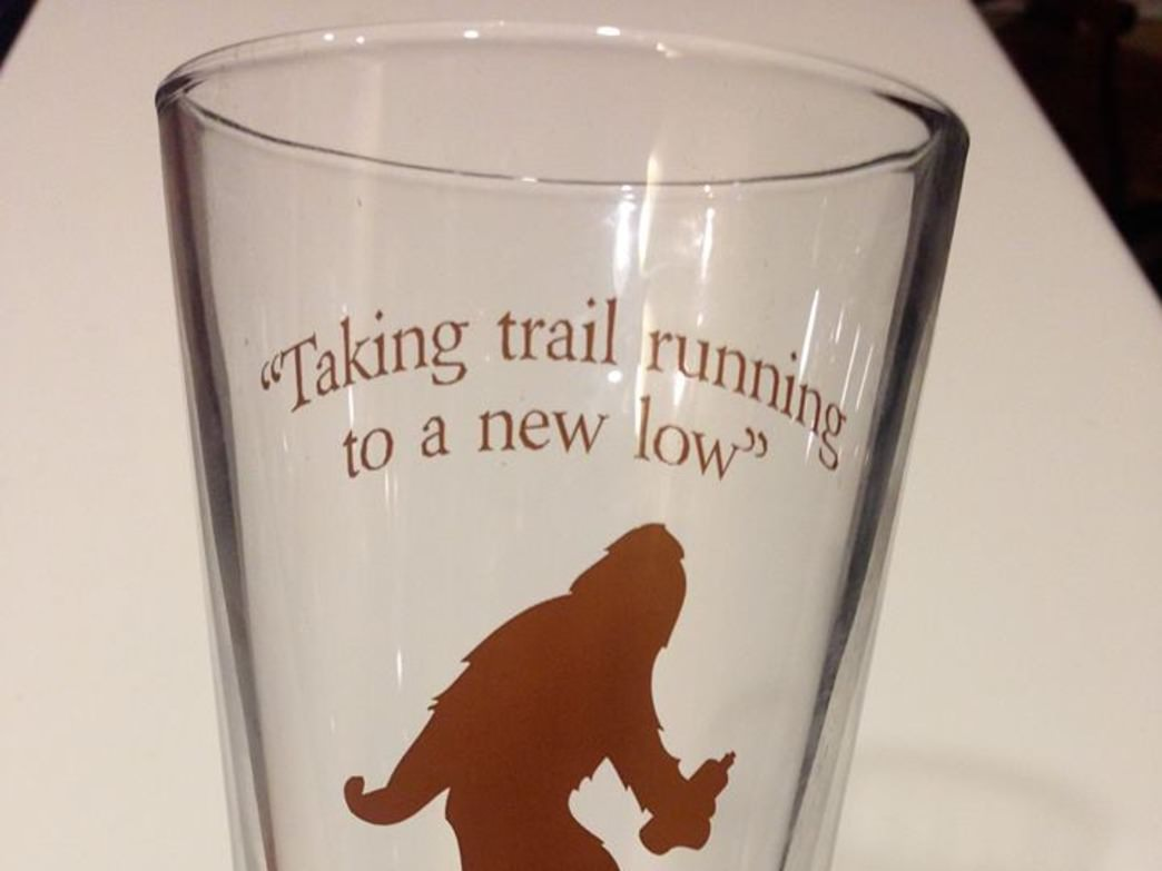 The Yeti pint glass