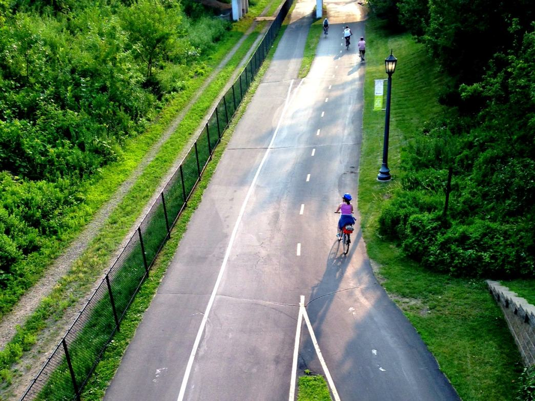 Summer cycling at its finest—Minneapolis consistently ranks as one of the top bicycle-friendly cities in the US