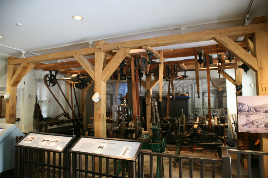 A glimpse of what you'll see if you stop by the Industrial Museum.