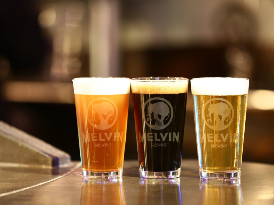 Melvin was recently named Best Small Brewpub of the Year.