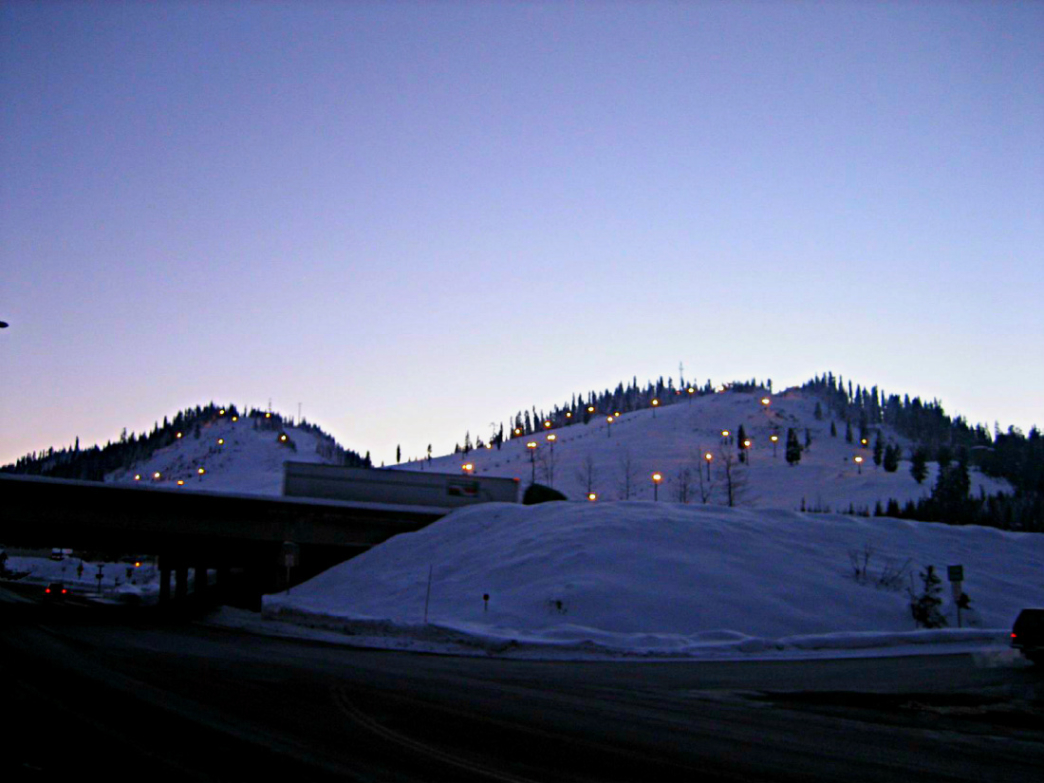 Snoqualmie is a convenient spot to score some turns after dark.