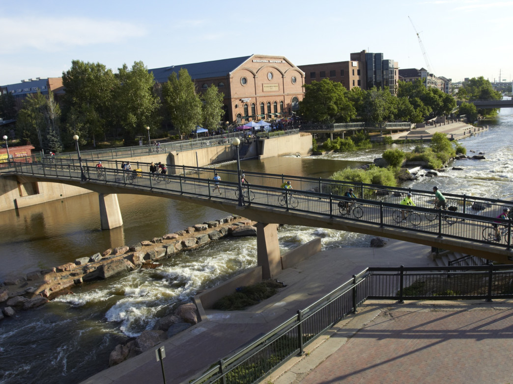 String together a route using Denver's outstanding bike path system.