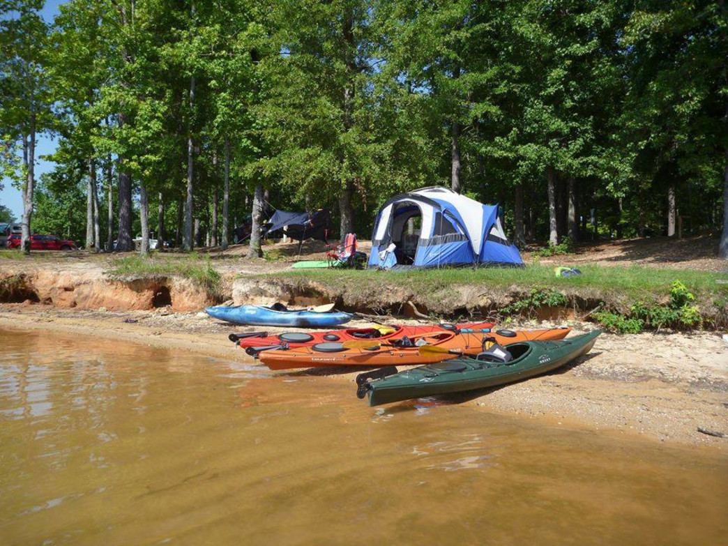 You can rent canoes and kayaks at Wind Creek State Park.